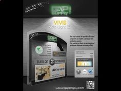 UNDER CABINET LED LIGHTING KIT -VIVID Ultra Bright LED Strip Light Kit Now With EZ Connect