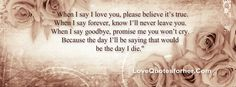 Love Quotes for Facebook Cover Page, Timeline and Status