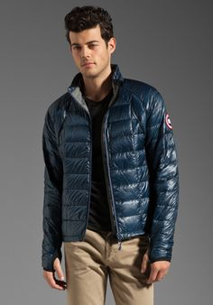 CANADA GOOSE 2012 Outside Gear of the Year Hybridge Lite Jacket in Spirit - Jackets & Coats
