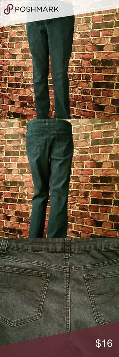 DKNY JEANS BOGO 50% Off All Jeans DKNY JEANS. 72% Cotton, 26 Polyester, 2% Spandex. Color: Navy blue. Waist: 32 inches, Thigh: 10.5 inches, Hips: 19.5 inches,  Rise: 11 inches, Inseam: 32 inches, Outseam: 41 inches, Leg Opening: 7.5 inches. Simply, like the jeans you want and leave a comment. I will adjust the price and notify you when your items are ready for purchase. **Seller's Discount: 20% off 2 or more items.**[A12] DKNY Jeans Straight Leg