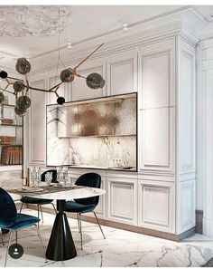 Home Luxury, Luxury Interior, Dining Suites, Kitchens And Bedrooms, Classic Interior, Modern Interior, Minimalist Decor, Minimalist Kitchen, Minimalist Interior