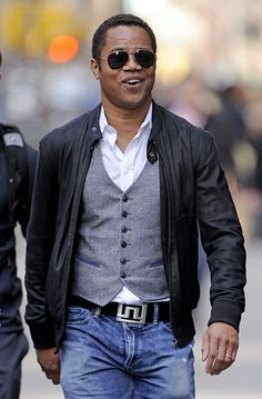 Cuba Gooding Jr.- actor - born 01/02/1968  The Bronx, New York City, New York