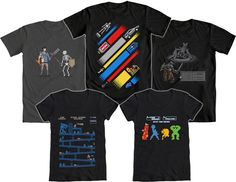 WE LOVE FINE WEDNESDAY LOVES PIXEL ART AWESOMENESS!  And we think you'll flip out of over our 8-Bit Design Contest Winners, if you haven't seen them already!   Repin this post and you are entered to WIN your choice of the top five winners, pictured above. Mens and womens sizes available! GOOD LUCK!    Repin and WIN!