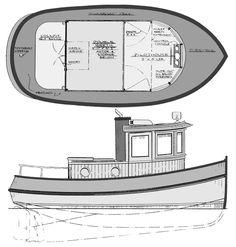 16' Tug/Trawler...Would do it in 20' or 25'.