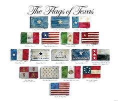 Flags of Texas, Historic Flags of Texas, Flags from the Republic of Texas, A Gallery of Texas Flags and Historic Texas Flags by Texas Artist Don Breeden Texas History 7th, Republic Of Texas, Texas Forever, Loving Texas, Texas Flags, Texas Pride, Lone Star State, History Classroom, Six Flags