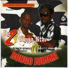 De 2 Mega Stars - Bongo Joromi - CD
