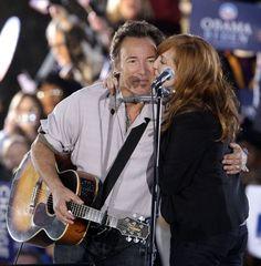 bruce and patty | Bruce Springsteen and Patti Scialfa