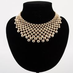 Women hyperbole collar zinc alloy gold/silver plated balls necklaces amp pendants female woman necklace collier femme MDJB159 //Price: $14.00 & FREE Shipping // Get it here ---> http://bestofnecklace.com/women-hyperbole-collar-zinc-alloy-goldsilver-plated-balls-necklaces-amp-pendants-female-woman-necklace-collier-femme-mdjb159/    #jewellery