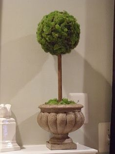 The Life of a Future Domestic Goddess: easy diy topiary