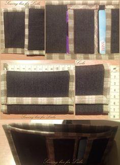 Men's mini wallets - black jeans