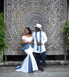 White African Couple Clothing/ Bride and Groom Outfit/ Traditional Wedding/ African Clothing/ Prom Couple Outfit/ Kitenge/ Dashiki/ Kente African Print Wedding Dress, African Wedding Attire, African Attire, African Dress, African Weddings, African Traditional Wedding Dress, Traditional Wedding Attire, Traditional Outfits, Sotho Traditional Dresses