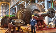 300MW #SteamTurbine HP & LP : Onsite Service & Machining