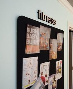 Fitness board-pin workouts on to do