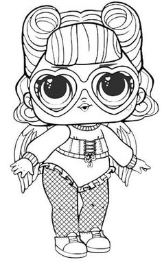LOL Surprise Dolls Coloring Pages Lil Cosmic Queen | lol ...