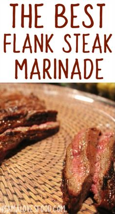 Had all the ingredients in my pantry! This was perfect! - The Best Flank Steak Marinade Recipe Had all the ingredients in my pantry! This was perfect! - The Best Flank Steak Marinade Recipe Marinade Für Steaks, Steak Marinade Recipes, Flank Steak Recipes, Grilling Recipes, Meat Recipes, Cooking Recipes, Skirt Steak Recipes, Marinade Sauce, Atkins Recipes