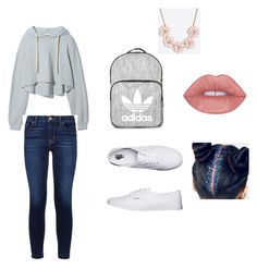 """Untitled #4"" by sabrina17 on Polyvore featuring Hudson, Vans, Topshop and J.Crew"