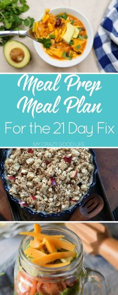 This meal prep meal plan is perfect for anyone who wants to do all of their cooking for the whole week in one day. It makes life easier, that's for sure!