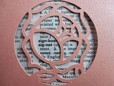 Revolutionary Girl Utena Rose Signet - Custom Cut Bookmark by CraftedWithZeal on Etsy https://www.etsy.com/listing/72953792/revolutionary-girl-utena-rose-signet