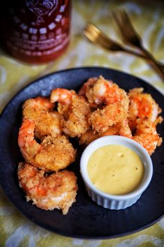 Coconut Shrimp with Mango-Siriacha Dipping Sauce. (Gluten/Grain Free & Paleo) - Real Sustenance