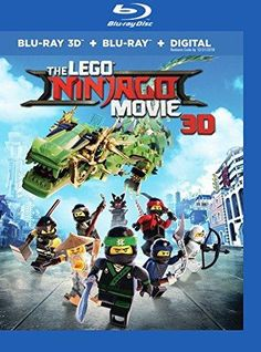 Lego Ninjago Movie (Region A) Blu-ray 3D+Blu-ray 2018