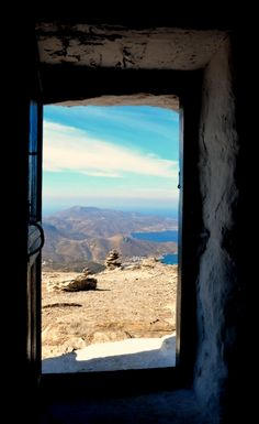 Landscapes of Amorgos island