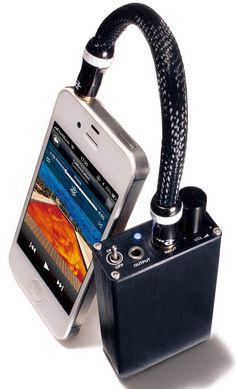 Portable headphone amp