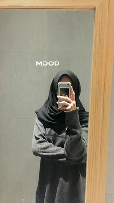 Casual Hijab Outfit, Ootd Hijab, Hijab Chic, Stylish Photo Pose, Stylish Girls Photos, Hijabi Girl, Girl Hijab, Foto Mirror, Tmblr Girl