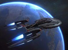 U.S.S. Mjolnir Chimera Class Destroyer from Star Trek On-Line