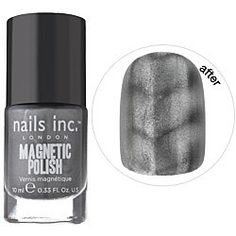 NAILS INC. Wave Magnetic Polish oz from Sephora. Shop more products from Sephora on Wanelo. Nails Inc, 3d Nails, Love Nails, How To Do Nails, Pretty Nails, Fancy Nails, Gray Nails, Polish Nails, Sephora