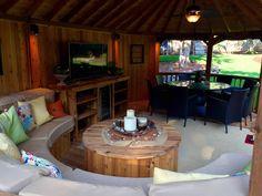 The Cambridge | Outdoor Garden Room & Cedar Gazebo | Kensington ...