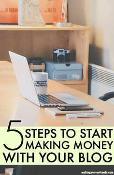 Steps to Follow to Start Making Money With A Blog. I started with a completely unknown blog that made no money (unless you count the pennies I made with Adsense) to making just under $500 during the six-day prelaunch of my very first product. If I can do it, you can too.