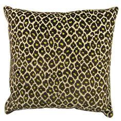 Cheetah Pillow II