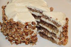 White Chocolate Espresso Torte with Hazelnut Praline - Maria Mind Body Health