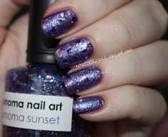 rebecca likes nails: my 500th post, featuring Sonoma Sunset!