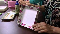 05/09/2013 Mulher.com  Ione Berne - Caixa de Cartonagem com tecido (Bloc...