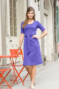 Dauphine dress Lavender from the Spring Collection by Shabby Apple