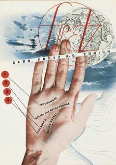 HERBERT MATTER (1907-1984). FRETZ. Brochure. 1933. 11x8 inches, 30x21 cm. Gebr. Fretz, Zurich.