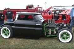 I guess you can call it a Hit Rod Truck, its got a cab and somewhat of a bed. I like it in a badass kinda way. Use those skills!