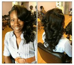 Remarkable Cute Sew In Style Wedding Hairstyles Pinterest Sew Sew Ins Short Hairstyles For Black Women Fulllsitofus