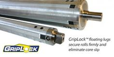 GripLock(tm) floating lugs secure rolls firmly and eliminate core slip. Made in New Jersey. Post Modern, Core, Rolls, Bread Rolls, Wraps, Dinner Rolls