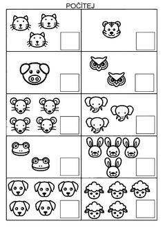 Preschool Worksheets, Preschool Activities, Cicely Mary Barker, Games For Kids, Homeschool, Nursery, Learning, Animals, Infant Activities
