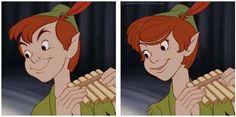 What a pretty Peter Pan!