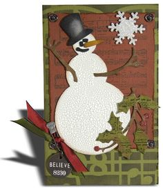 cards with vintage stamps tim holtz | Tim Holtz Cling Rubber Stamps REINDEER FLIGHT Stampers Anonymous