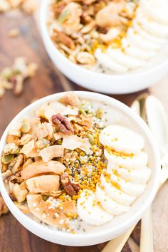 Banana Cream Pie Smoothie Bowl | Get Inspired Everyday!