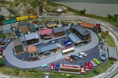 Another hobby of mine, N scale train diorama. N Scale Model Trains, Model Train Layouts, Scale Models, N Scale Layouts, Simple Camera, Hobby Trains, Train Set, 4 Photos, The Real World