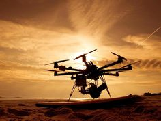 An interesting piece in our segment, 'Tools of the Trade'.    The CineStar 8, a Professional Aerial Cinematography System, with a multi-rotor helicopter with a Canon C500     Photo credit: freeflysystems
