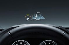 Full Color Head-Up Display projects important travel information such as vehicle speed and check control warnings, onto the windshield directly in your field of vision. For the first time, all Head-up Display data is shown in full color, making information more precise and easier to process. Additional information including Navigation directional arrows and instructions, Lane Departure Warning messages and warnings from the BMW Night Vision with Pedestrian detection system can also be…