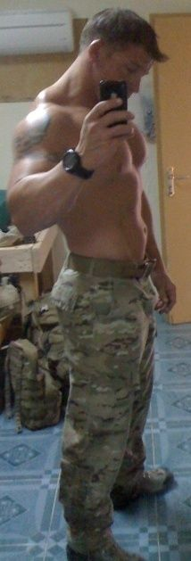 And ya'll wondered why I only liked guys in the military!