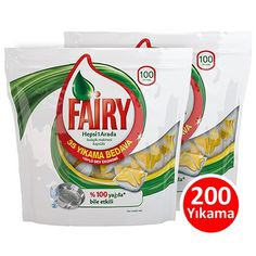 Fairy Hepsi Bir Arada Bulaşık Kapsülü Limon 100 Lü x 2 Adet, sadece 61.90 TL >> http://www.happy.com.tr/Fairy_Hepsi_Bir_Arada_Bulasik_Kapsulu_Yesil_100lu_2ADET?sort=p.sort_order&order=ASC&page=3&limit=24