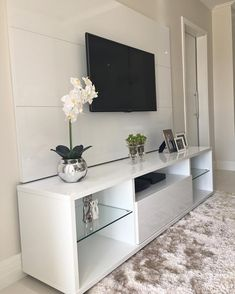 Home Living Room, Interior, Home Bedroom, Home Decor, Apartment Decor, Home Deco, Home And Living, Living Room Designs, Living Room Tv